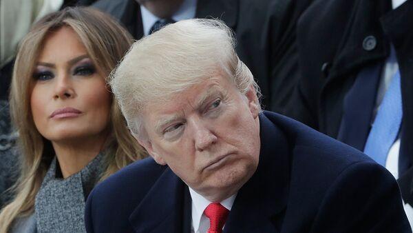Donald Trump à Paris - Sputnik France
