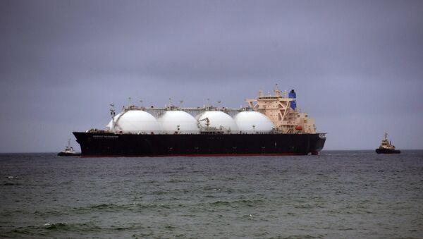 GNL tanker - Sputnik France