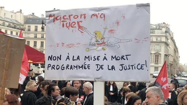 Mobilisation des avocats et magistrats contre la réforme de la justice - Sputnik France