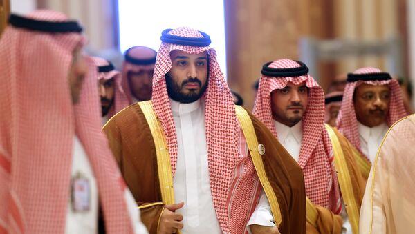Mohammed ben Salmane (deuxième à gauche) - Sputnik France