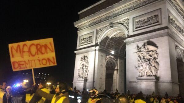 «Gilets jaunes»: tensions place de l'Étoile - Sputnik France