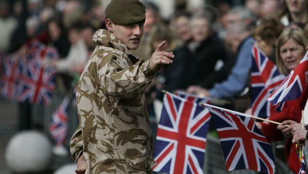 un soldat britannique (image d'illustration) - Sputnik France