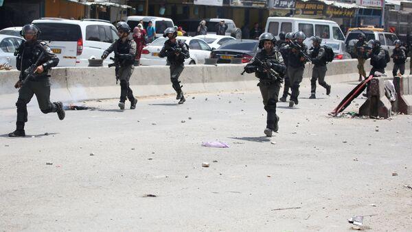 Des militaires israéliens lors des manifestations en Palestine - Sputnik France