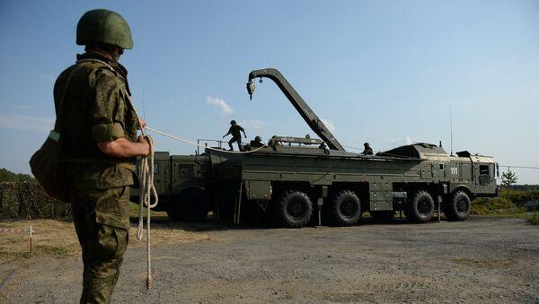 Déploiement d'un système de missiles Iskander - Sputnik France