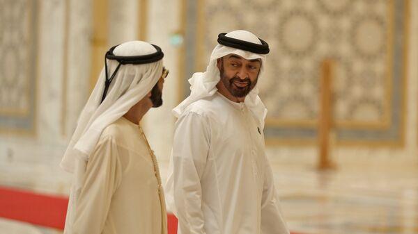 Abu Dhabi's Crown Prince Sheikh Mohammed bin Zayed Al Nahyan - Sputnik France