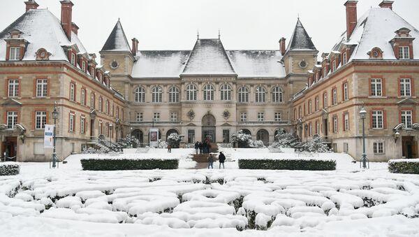 Université de Paris sous la neige - Sputnik France