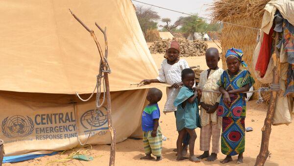 Un camp de réfugiés au Niger - Sputnik France