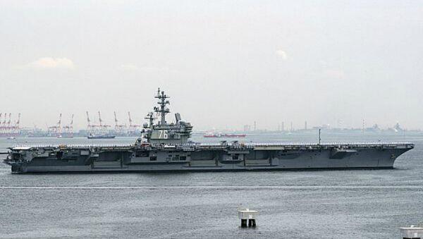 Le porte-avions américain à propulsion nucléaire USS Ronald Reagan - Sputnik France