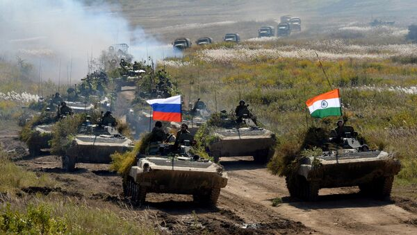 Exercice russo-indien Indra-2018 - Sputnik France