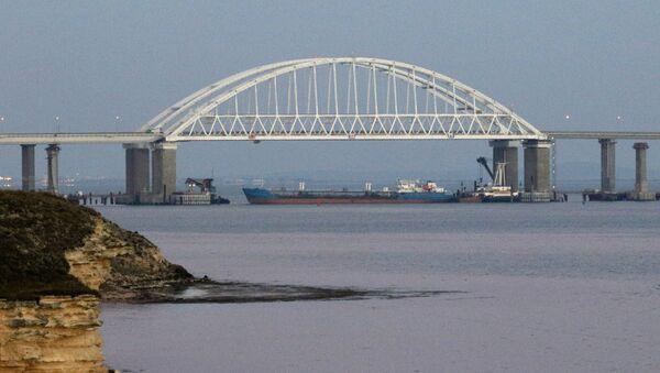 Le détroit de Kertch fermé pour les bateaux civils à des fins de sécurité - Sputnik France