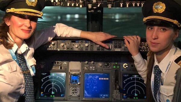 Les femmes pilotes dans l'aviation civile - Sputnik France