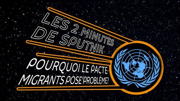Les Deux Minutes de Sputnik. Migrants - Sputnik France