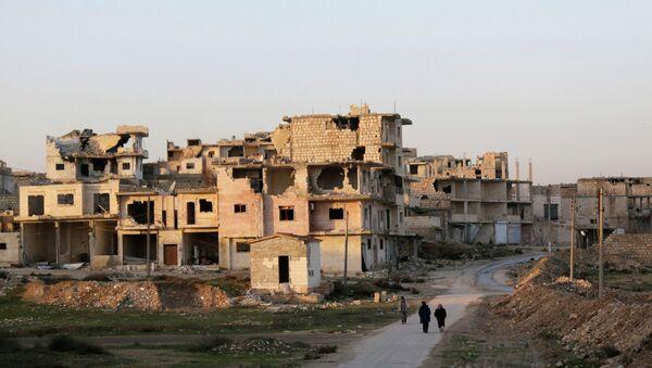 Une ville du gouvernorat d'Idlib (archive photo) - Sputnik France