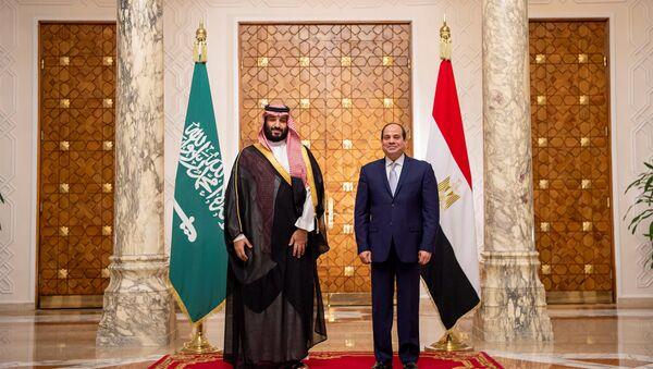 Président égyptien Abdel Fattah al-Sissi et prince héritier saoudien Mohammed ben Salmane - Sputnik France