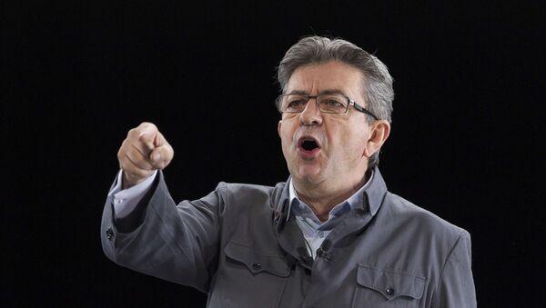 Jean-Luc Mélenchon, le candidat à l'élection présidentielle 2017 - Sputnik France