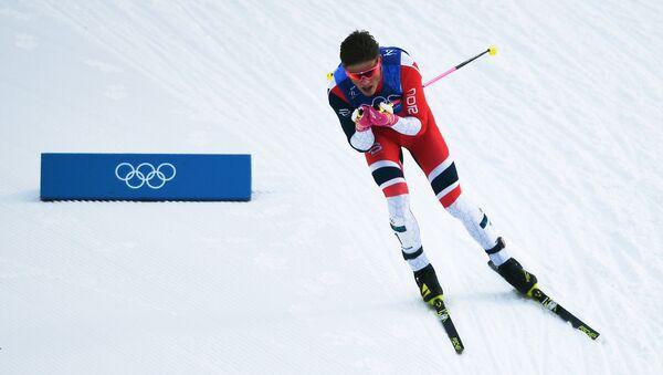 Johannes Kaebo, triple champion olympique - Sputnik France