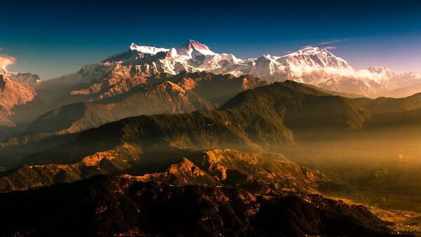 Les montagnes du Népal - Sputnik France