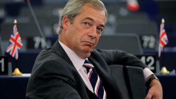 Nigel Farage - Sputnik France