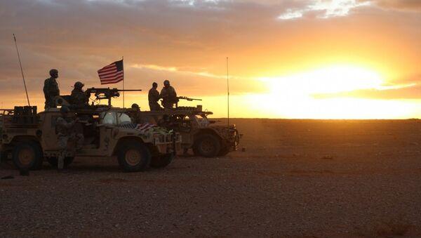 Militaires US près d'Al-Tanf - Sputnik France