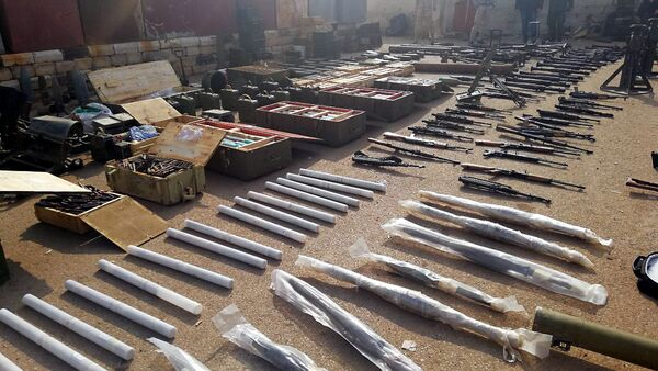 Un dépôt d'armes des terroristes découvert dans le sud de la Syrie - Sputnik France