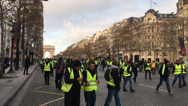 Manifestation des Gilets jaunes le 8 décembre - Sputnik France