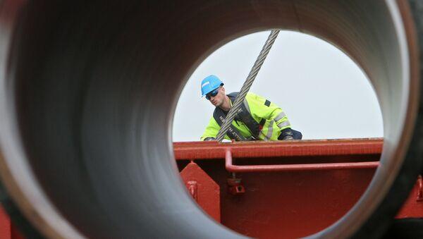 Construction d'un gazoduc - Sputnik France