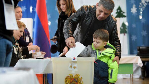 les élections législatives anticipées en Arménie - Sputnik France
