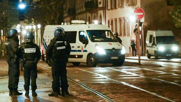 Police à Strasbourg - Sputnik France