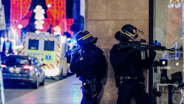 Les policiers français à Strasbourg - Sputnik France