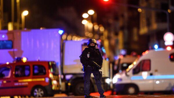 La police dans le quartier de Neudorf, à Strasbourg - Sputnik France