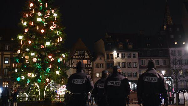 Strasbourg après l'attaque du 11 décembre 2018 - Sputnik France