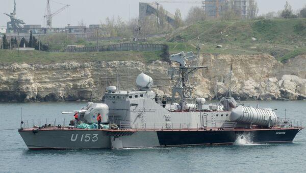 La vedette lance-missiles Priluki de la Marine ukrainienne - Sputnik France
