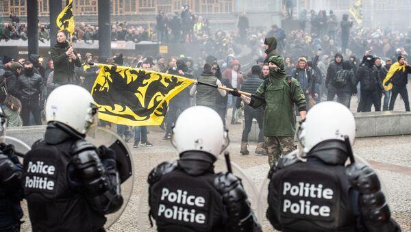 Démonstrations en Belgique - Sputnik France
