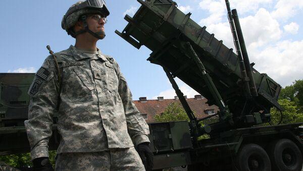 Une batterie de missiles américains Patriot - Sputnik France