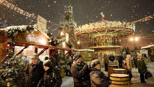 Un marché de Noel sur la Place Rouge - Sputnik France