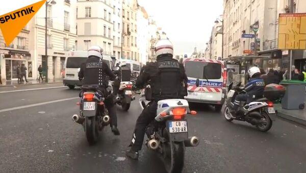 L'acte 6 des Gilets jaunes à Paris - Sputnik France