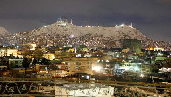 A general view of a neighborhood during the night in Kabul, Afghanistan, Sunday, Feb, 13, 2011 - Sputnik France