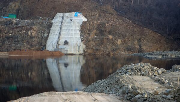 La centrale hydroélectrique de la Boureïa, dans la région de l'Amour - Sputnik France