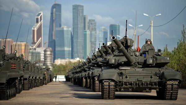 L'entraînement avant le parade de la Victoire à Moscou - Sputnik France