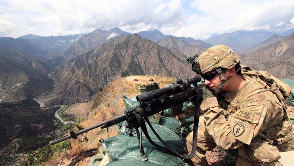 Un militaire US en Afghanistan  - Sputnik France