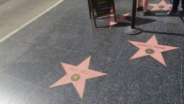 étoile de Donald Trump à Hollywood - Sputnik France