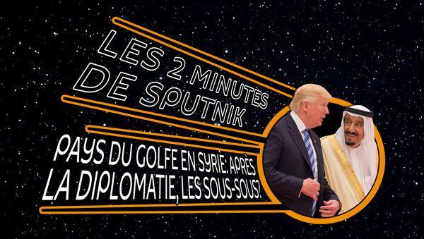 Trump et le Roi Salman d'Arbie saoudite - Sputnik France