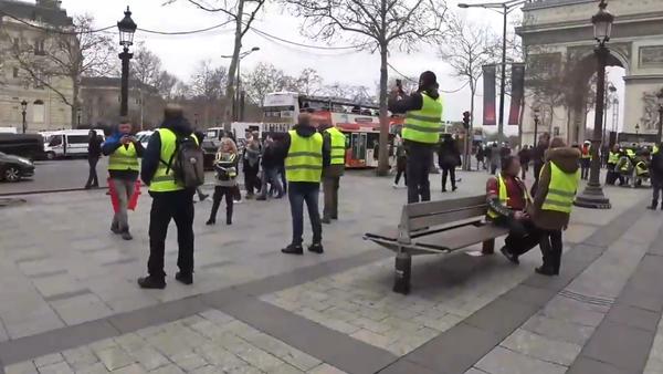 L'acte 7 des Gilets jaunes à Paris, 29 décembre 2018 - Sputnik France