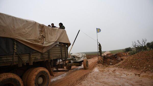 Forces syriennes déployées dans le district de Manbij - Sputnik France