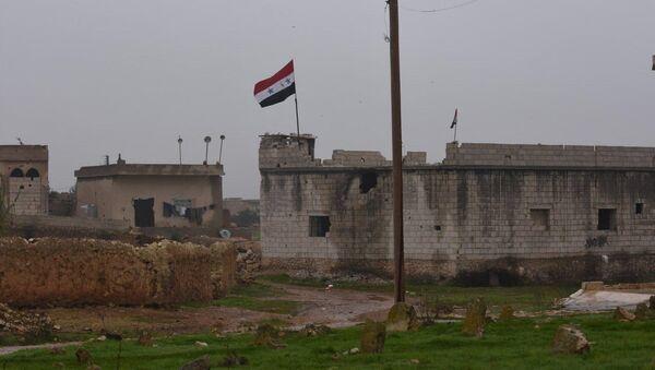 Forces syriennes déployées dans le district de Manbij (archive photo) - Sputnik France