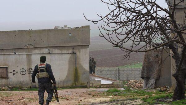 Forces syriennes déployées dans le gouvernorat d'Alep (archive photo) - Sputnik France