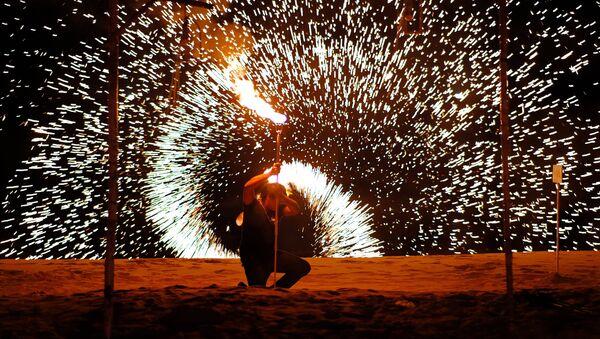 Un spectacle pyrotechnique - Sputnik France