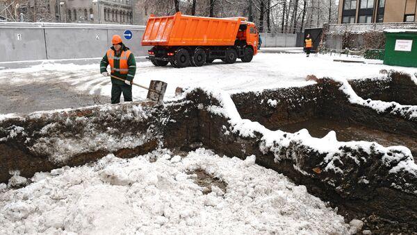 Poste de fonte de neige - Sputnik France