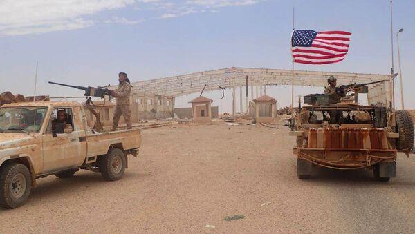 Al-Tanf, base militaire des États-Unis en Syrie - Sputnik France