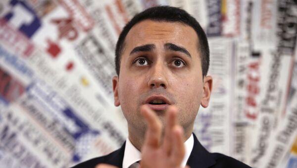 Italy's 5-Star Movement and Italian Low Chamber vice President Luigi Di Maio - Sputnik France
